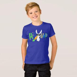 Camisa legal dos miúdos de Hip Hop do coelhinho da