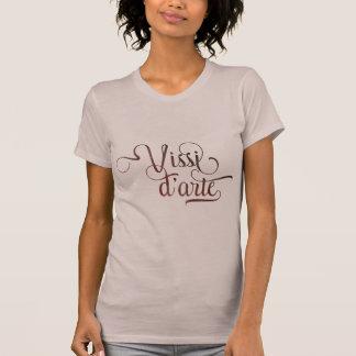 Camisa leve tipográfica decorativa do d'arte de