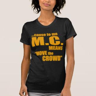 Camisa lírica do rap t