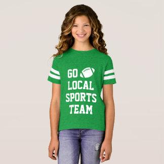 Camisa local genérica do futebol da equipe
