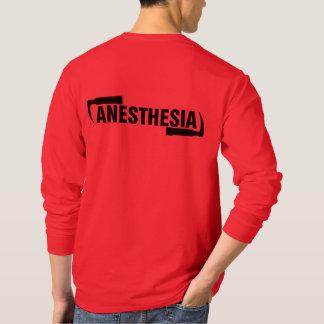 Camisa longa da anestesia da luva dos homens