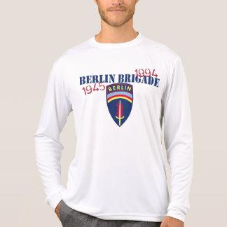 Camisa longa da luva da brigada de Berlim