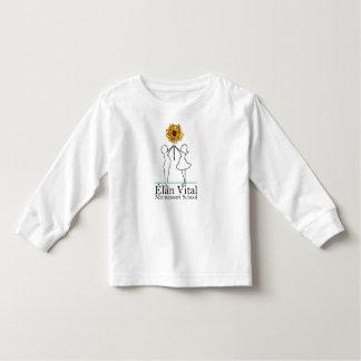 Camisa longa da luva da criança do Evm