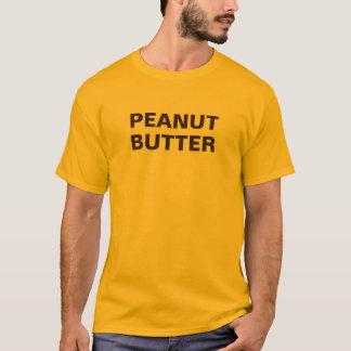 Camisa longa da luva da manteiga de amendoim