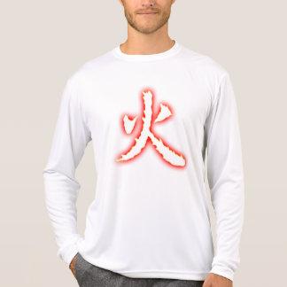 Camisa longa da luva da micro fibra dos homens do