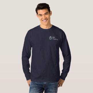 Camisa longa da luva das caridades DT1 com