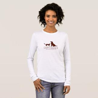 Camisa longa da luva das mulheres de LCAR