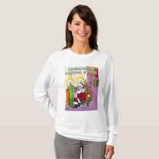 Camisa longa da luva das mulheres do estilo do