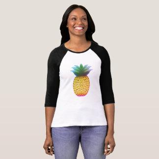 Camisa longa da luva do abacaxi doce