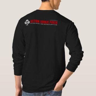 Camisa longa da luva do AJP dos homens