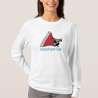 Camisa longa da luva do clube de Schutzhund do