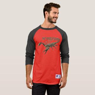 Camisa longa da luva do escorpião