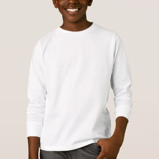 Camisa longa da luva do Hanes Tagless ComfortSoft®