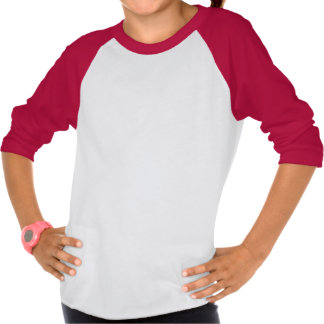 Camisa longa da luva do Natal do boneco de neve Camisetas