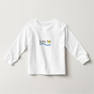 Camisa longa da luva do pequeno salgado tshirts