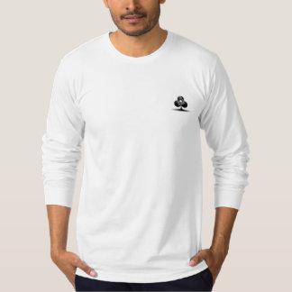 Camisa longa da luva do póquer do toxicómano da