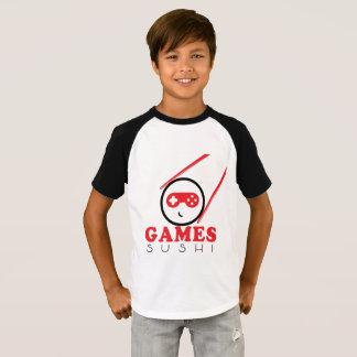 Camisa longa da luva do sushi oficial dos jogos!
