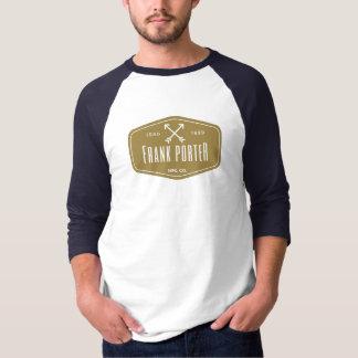 Camisa longa das capas do porteiro de Frank da