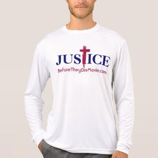 Camisa longa de justiça da luva do oficial BTD
