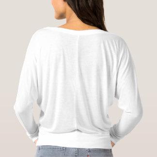 Camisa longa do SemiColon da luva