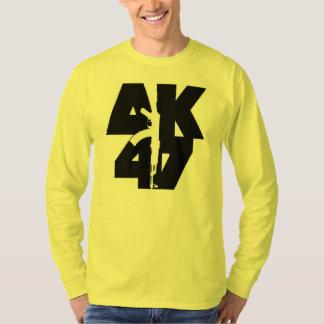 Camisa longa do sleve de AK-47 T-shirts
