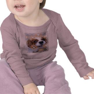 Camisa longa infantil da luva tshirts