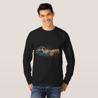 Camisa longa interestelar da luva t
