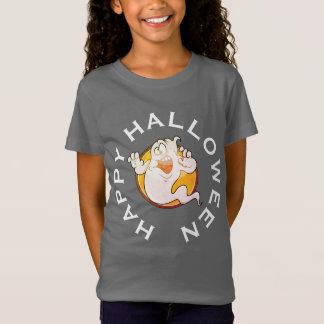 Camisa louca do Dia das Bruxas do fantasma