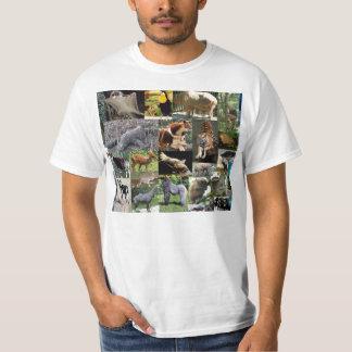 Camisa louca do safari T