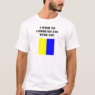 Camisa Luz-Colorida da bandeira do quilo (bandeira