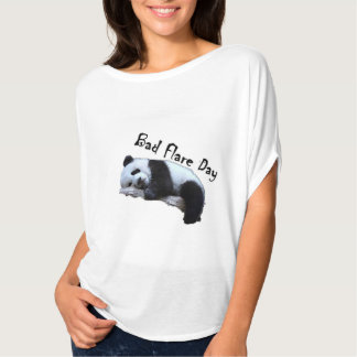 Camisa má da panda do dia do alargamento Slouchy