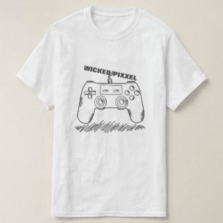 Camisa má do controlador do jogo de Pixxel