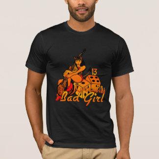 Camisa má Rockabilly da menina
