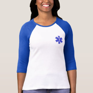 Camisa manga 3/4 Estrela da Vida