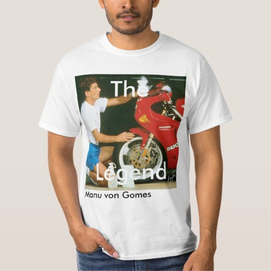 Camisa Manu von Gomes - The legend