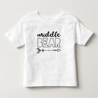 Camisa média do urso