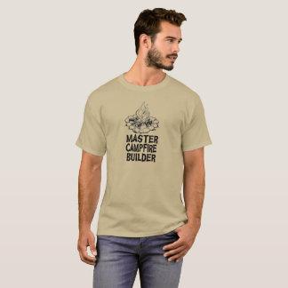 Camisa mestra do construtor da fogueira