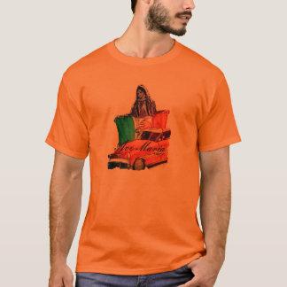 Camisa mexicana da arte popular da avenida Maria