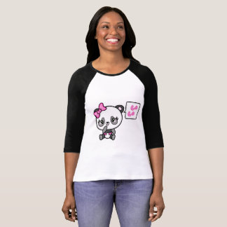 Camisa mindinho da panda do Pinkie