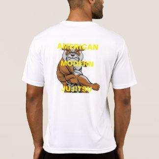 camisa moderna americana #1 da equipe do jujitsu