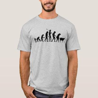Camiseta Camisa moderna da evolução