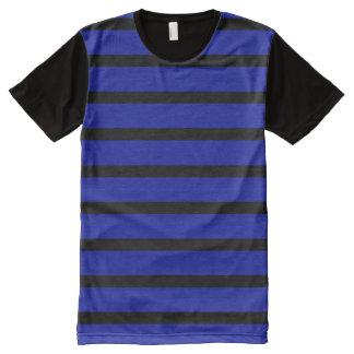 Camisa moderna dos homens do desenhista do preto
