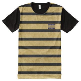 Camisa moderna dos homens do nome comercial da