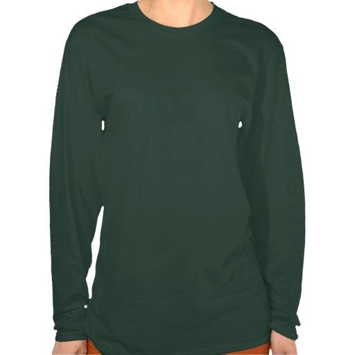 Camisa morna e Cosy da árvore de Natal Camisetas