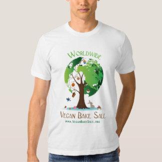 Camisa mundial da venda do assar do Vegan por Tshirts