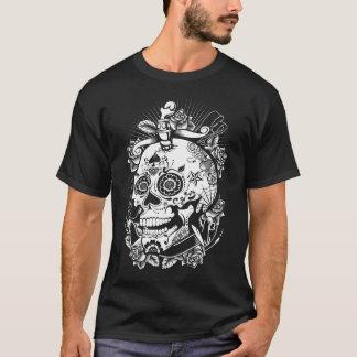 Camisa na moda do divertimento do crânio