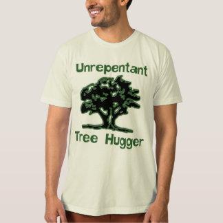 Camisa não-arrependido de Hugger da árvore