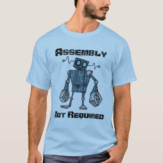 Camisa não exigida do conjunto