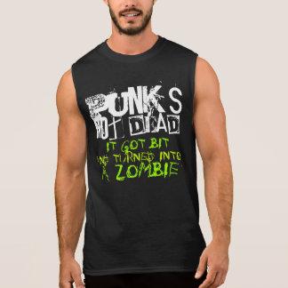 Camisa nao inoperante dos punks camisa sem mangas