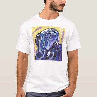 Camisa napolitana do pop art t do Mastiff